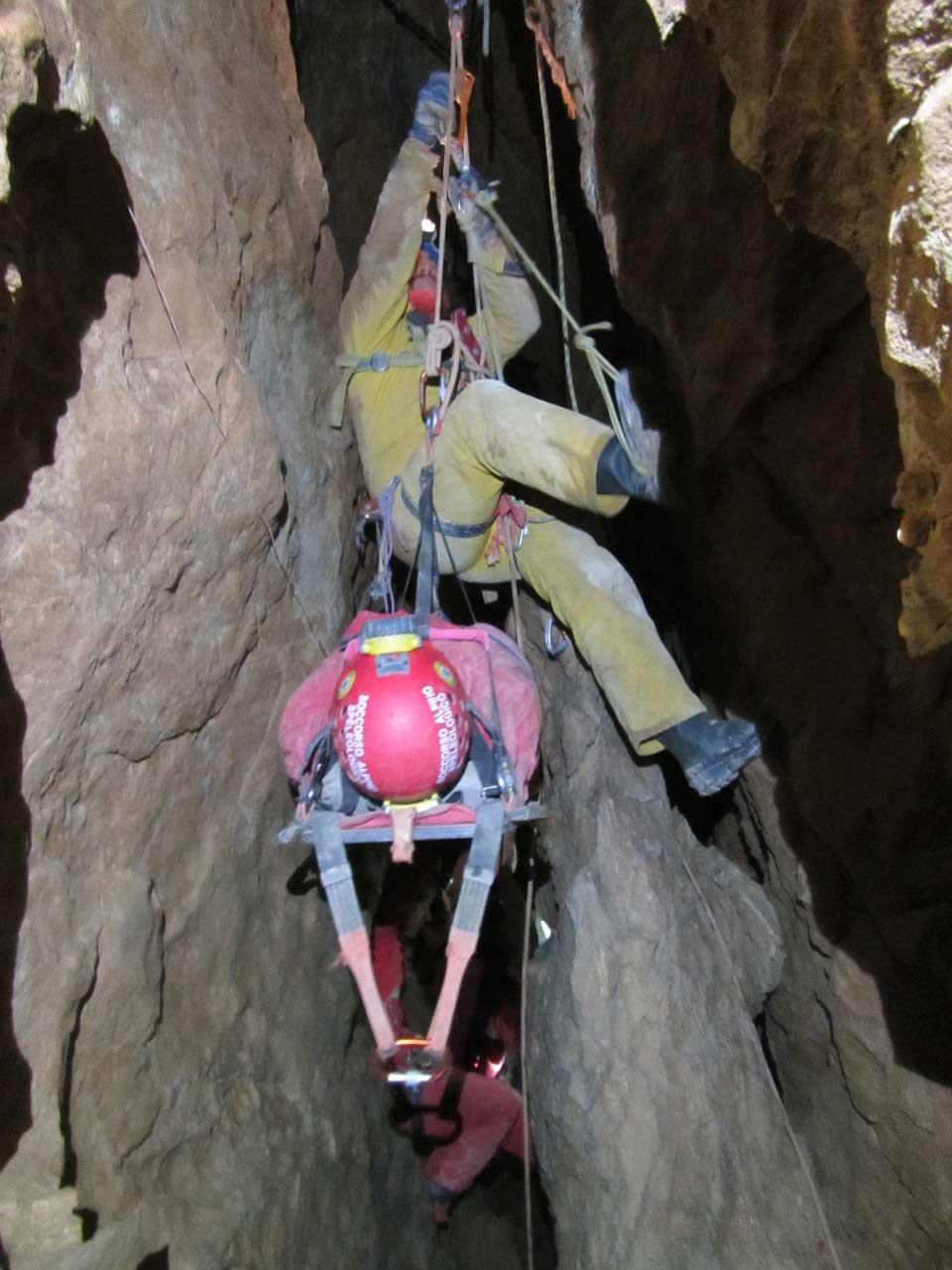 Gli Speleo del CNSAS in Piemonte
