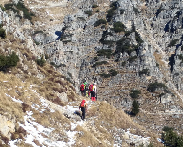CNSAS, operazioni di ricerca sul Monte Pasubio