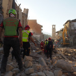 CNSAS Soccorso Alpino terremoto