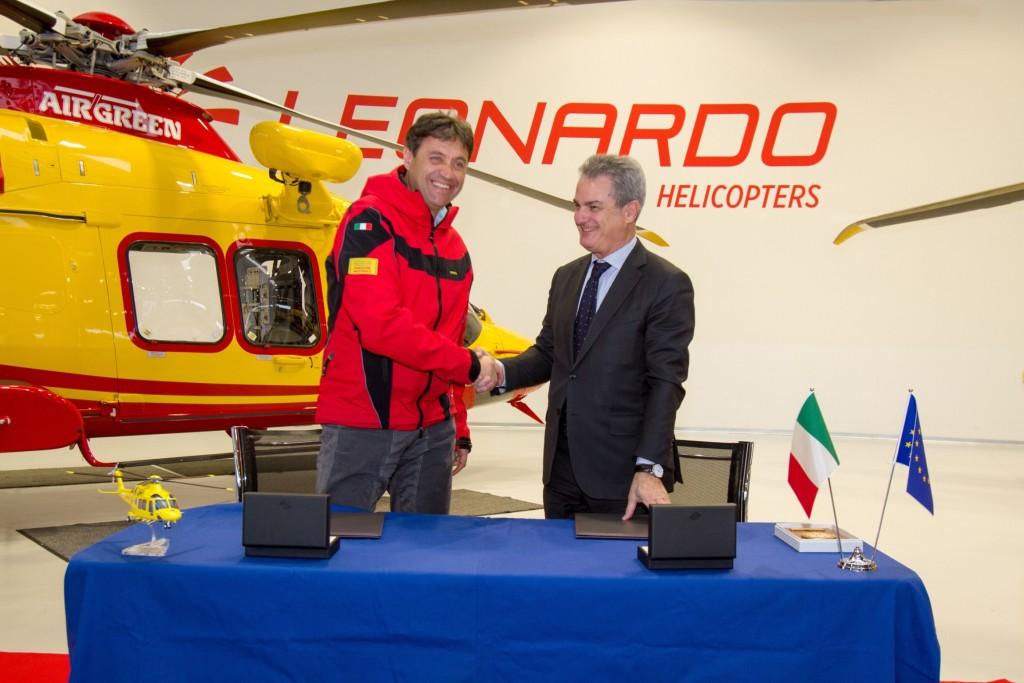Soccorso Alpino e Leonardo Finmeccanica