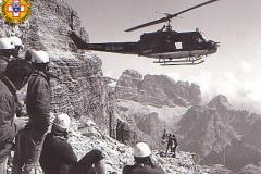 Soccorso Alpino a Cortina: gli anni della Storia