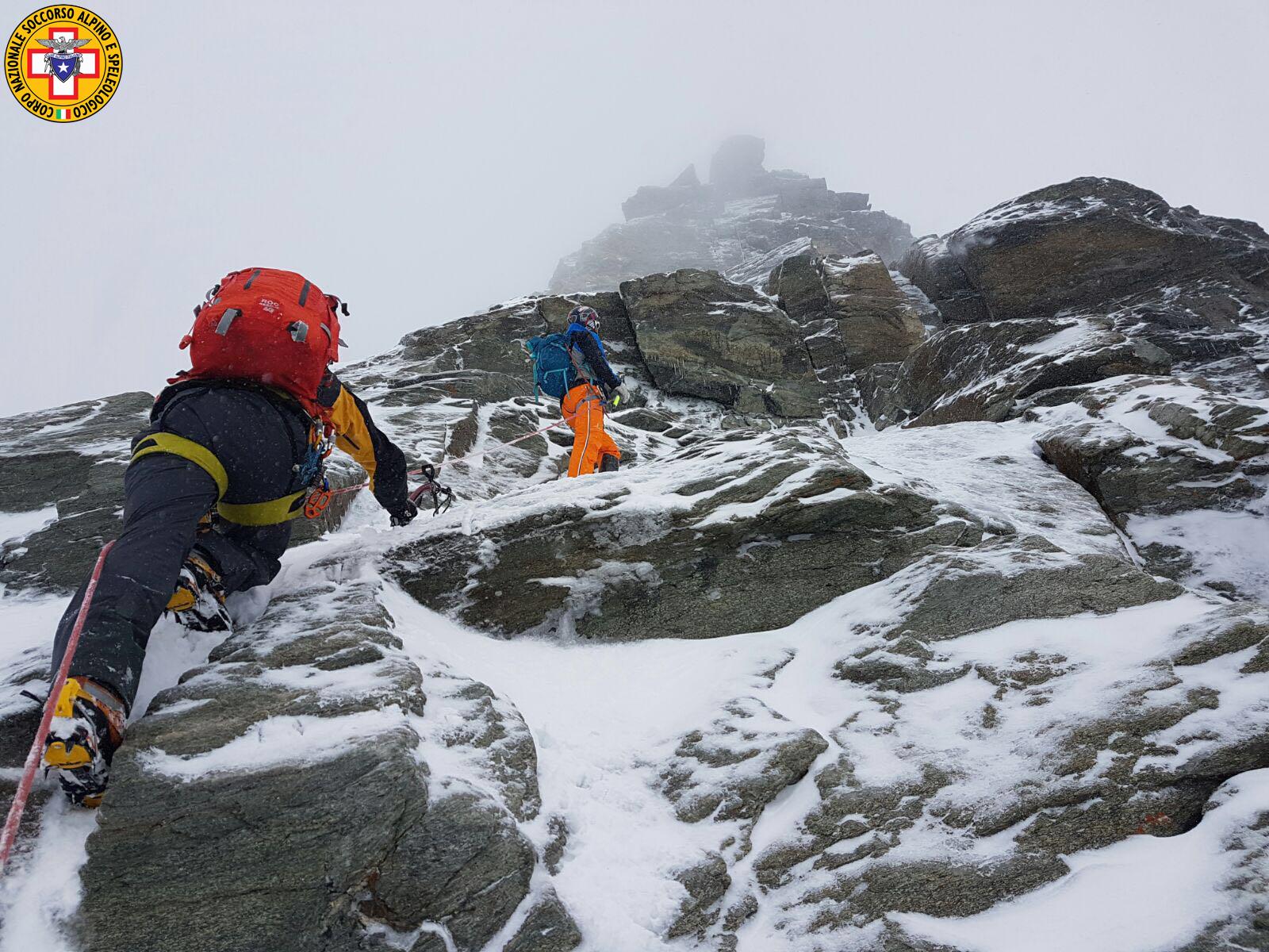 Intervento Soccorso Alpino e Speleologico CNSAS