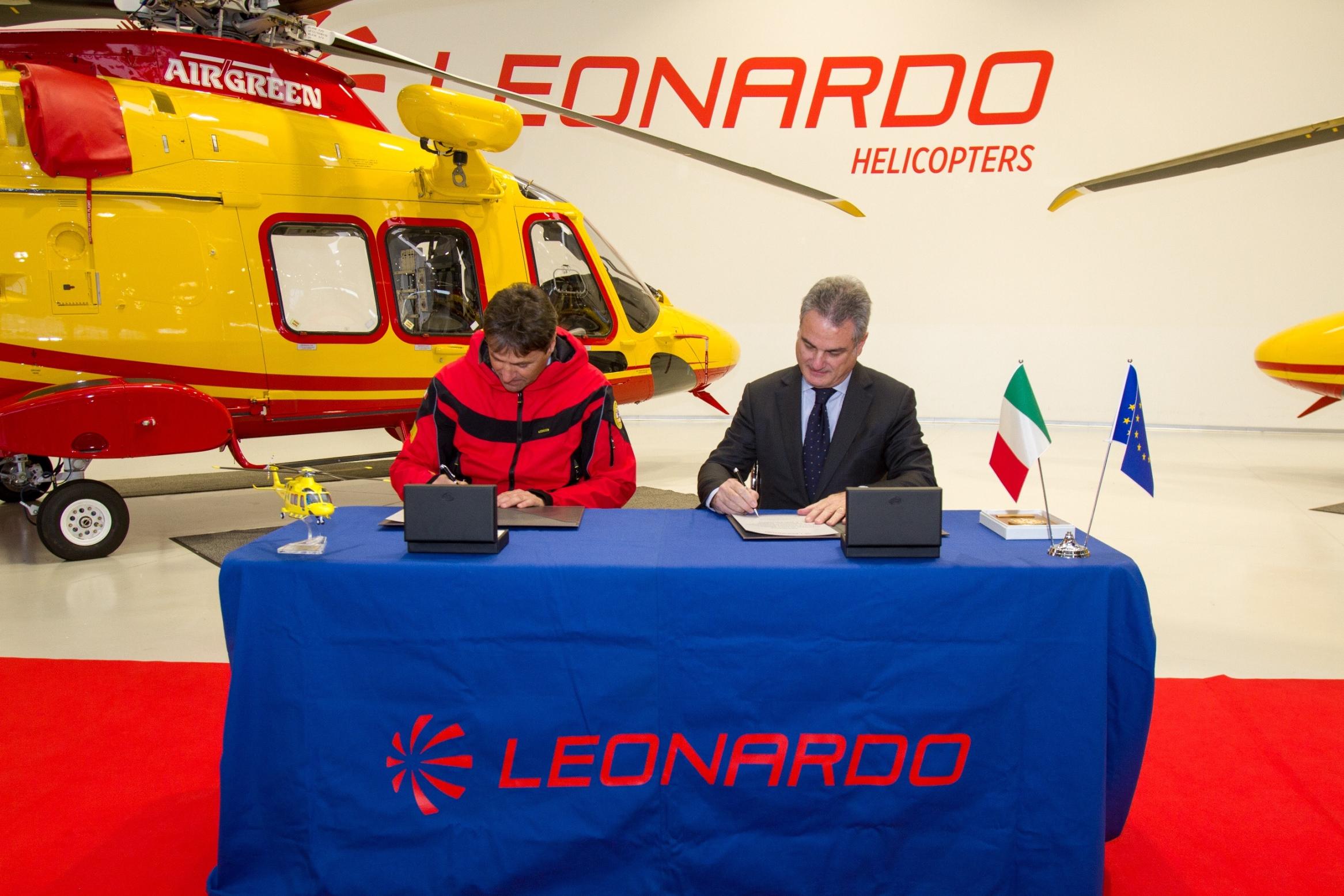 Soccorso Alpino e Leonardo Elicotteri